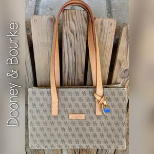 Dooney & Bourke Tan East West Tote